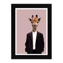 """Street fashion giraffe, Dekoráció, Képzőművészet, Otthon, lakberendezés, Illusztráció, Fotó, grafika, rajz, illusztráció, Street fashion giraffe Digitális nyomat.  Inspiráció: """"My one regret in life is that I am not someo..., Meska"""