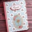 Sütis-rózsás receptkönyv - RENDELHETŐ, A képen látható receptkönyv már elkelt, de ha...