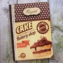 Csokitorta mintás receptkönyv, A képen látható csodaszép receptkönyv már el...
