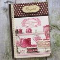 Cukrászda receptkönyv, A képen látható csodaszép receptkönyv már el...