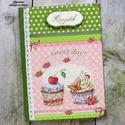 Kettő muffinos receptkönyv, A képen látható szépséges receptkönyv már e...