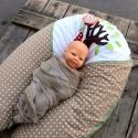 BABA – MAMA SZOPIPÁRNA - bagoly applikációval (627.), Baba-mama-gyerek, Baba-mama kellék, Kényelmes párna a babának és a mamának. A terhesség utolsó időszakában a kismama kényelmes..., Meska