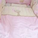 Ágynemű - egyedileg applikálva - takaró+párna, Gyerek & játék, Gyerekszoba, Falvédő, takaró, Egyedi készítésű ágynemű szettet kínálunk.  Ágyneműszett felépítése: -két réteg 100 %-os pamut, köz..., Meska