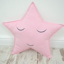 Csillag párna - Liza style, Baba-mama-gyerek, Otthon, lakberendezés, Lakástextil, Párna, Vidám, egyedi csillag formájú párnát készítettünk kedves arccal.   A mérete kb: 40x30 cm   Csak a me..., Meska