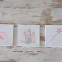 FALIKÉP SZETT - Hercegnős (991.), Baba-mama-gyerek, Gyerekszoba, Baba falikép, Egyedi, vidám falikép kollekciót, babaszoba dekorációt kínálunk számodra.   Képek felépít..., Meska