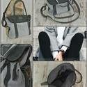 Felemás bőr táska  !!!, Táska, Válltáska, oldaltáska, Varrás, Virágkötés, Bőrből készült  táska, ami a kedvenc táskád lehet mert nagyon praktikus és kényelmes viselet .  A t..., Meska
