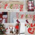 KARÁCSONY felírat !, Dekoráció, Ünnepi dekoráció, Dekoratív felíratott  készítettünk KARÁCSONYRA! A lakás dísze lehet az ünnepekre!  anyaga: ..., Meska