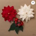 Háromrészes filc virág motívumú hűtőmágnes szett (több változat), Konyhafelszerelés, Dekoráció, Otthon, lakberendezés, Hűtőmágnes, Mindenmás, | Vásárlás után írd meg, melyik változatot/változatokat szeretnéd, a képek jobb felső sarkában talá..., Meska