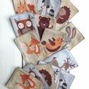 Erdei állatos filc memori kicsiknek, Játék, Készségfejlesztő játék, Logikai játék, Baba játék, Bájos erdei állatkák filcből, ovis gyerkőcöknek. Játszva megismerhetitek a tündéri képek segítségéve..., Meska