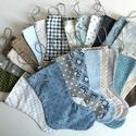 Adventi csizmák textilből akasztóval