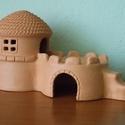 Hörcsögház 3 lakterű, Állatfelszerelések, Három lakóterű hörcsögház. Az alsó szintek belső átmérője kb. 10 és 11 cm, a felső szint kb. 8,5 cm ..., Meska