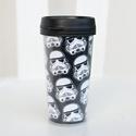 Thermo bögre (duplafalú) - Star Wars / rohamosztagos 01, Konyhafelszerelés, Bögre, csésze, Fotó, grafika, rajz, illusztráció, A thermo bögre duplafalú, aminek 2 fala között található a nyomtatott grafika. Ajándékba választhat..., Meska