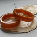 Karamella műgyanta gyűrű, Ékszer, Gyűrű, Ékszerkészítés, AKCIÓ!!!A gyűrűt gyantából öntöttem.A gondos munka (csiszolás,polírozás) következtében lett ilyen s..., Meska