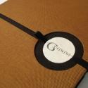 Gemma vendégkönyv, Naptár, képeslap, album, Jegyzetfüzet, napló, Egyedi vendégkönyv a Gemma kórus részére! 20x30 cm-es, textil borítású könyv., Meska
