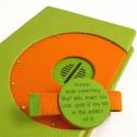 Zöld-narancs Paperwhite tok, Naptár, képeslap, album, Táska, Pénztárca, tok, tárca, Kindle Paperwhite-hoz készült tok műbőr és textil borítással., Meska