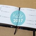2017, S-es HETI beosztású határidőnapló BELSŐ, Naptár, képeslap, album, Naptár, Könyvkötés, 2017-es határidőnapló ! csak BELÍV ! NOTESHELL notesz / határidőnapló borítóhoz!  *** mérete: 10x10..., Meska