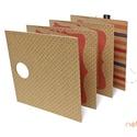 ECO Falra akasztható leporello - apró pöttyös-rózsaszín, Naptár, képeslap, album, Fotóalbum, Könyvkötés, Noteshell ECO falra akasztható leporello - 100% újrahasznosított papírból  Stílusos,egyedi és látvá..., Meska