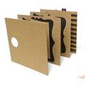 ECO Falra akasztható leporello - fekete apró pöttyös, Naptár, képeslap, album, Fotóalbum, Noteshell ECO falra akasztható leporello - 100% újrahasznosított papírból  Stílusos,egyedi és látván..., Meska