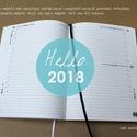XL-es NAPI beosztású határidőnapló belső 2018, Naptár, képeslap, album, Naptár, Könyvkötés, 2018-as határidőnapló ! csak BELÍV ! NOTESHELL notesz / határidőnapló borítóhoz!  - mérete: 14x20 c..., Meska
