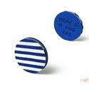 KORONG-kék-fehér-csíkos, Naptár, képeslap, album, KORONG cserélhető belsejű noteszekhez: https://www.meska.hu/Shop/index/15582?search_string=click-..., Meska