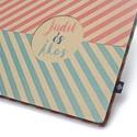 Eco nagy esküvői fotóalbum-halszálka mintás, Naptár, képeslap, album, Fotóalbum, Noteshell ECO fotóalbum - 100 % újrahasznosított papírból készült ESKÜVŐI fotóalbum (DUO e..., Meska