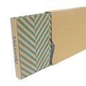 Eco nagy fotóalbum védőtokkal - kék halszálka mintás, Naptár, képeslap, album, Fotóalbum, Noteshell ECO fotóalbum védőtokkal - 100% újrahasznosított papírból készült  (DIVIDED kolle..., Meska