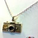Fényképezőgép nyaklánc LEFOGLALVA, Ékszer, Fényképezőgépes nyaklánc Bejushka kérésére. Csak akkor vedd meg, ha te vagy Ő :), Meska