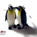 Pingvin fülbevaló , Ékszer, óra, Fülbevaló, Tündéri kis pingvinek a füleidbe. Könnyű és strapabíró állatkák, mosolyt csalnak az arcodra (és máso..., Meska