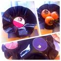Bakelit tál -recycling retro #3, Igazi retró a bakelit lemezből készített tál....