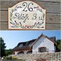 Kerámia ház és utcanév tábla,  Egy jól választott egyedi utca vagy házszám k...