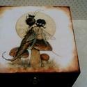 Tündérek, koboldok, vagy mi a manók?!, 4 rekeszes dobozka a gyerekszobába(?) A rekeszek ...