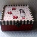 Kis/nagylányos... Gorjuss-babás..., Ez egy 17X17X8 cm-es dobozka... csecsebecséknek, ...