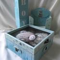 Babókás... :), Ez egy 17X17X8 cm-es dobozka... apró emlékeknek,...