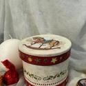 Kiskarácsony... II. :), Dekoráció, Ünnepi dekoráció, Karácsonyi, adventi apróságok, Karácsonyi dekoráció, Ajándék dobozka... bárkinek... akinek a Mikulás, vagy az angyalka ajándékot szán... Bonbonok, aprócs..., Meska