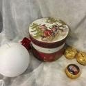 Kiskarácsony... III. :), Dekoráció, Ünnepi dekoráció, Karácsonyi, adventi apróságok, Karácsonyi dekoráció, Ajándék dobozka... bárkinek... akinek a Mikulás, vagy az angyalka ajándékot szán... Bonbonok, aprócs..., Meska