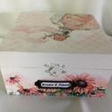 ESKÜVŐI ajándékátadó... Happy wedding box... , Esküvő, Nászajándék, Kedves, bohókás, de mégis finom esküvői dobozka... :)  Mérete: 15x15x8 cm, Meska