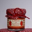 Karibi piros habanero chilikrém 40g, Kulinária (Ízporta), Fűszer, Extra erős chilikrém díszes üvegben. Érett, piros színű habanero paprikából készített, darált, enyhé..., Meska