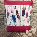 Textilbőr táska, Táska, Mindenmás, Ruha, divat, cipő, Válltáska, oldaltáska, RENDELHETŐ , ELKÉSZÍTÉSI IDŐ 1 HÉT !!!! Textilbőrből készítettem.  A4-es könyvek kényelmesen elférne..., Meska