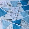 Fiús zászló füzér, Szuper kiegészítő minden gyerek- és babaszobá...