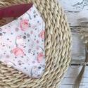 Madaras nyálkendő, Vékony két réteg pamutvászonból készült íg...
