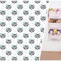 Menta, szürke mosómedvés textillel falra szerelhető 3 zsebes tároló - babaszobába pelenkatartónak, plüss állat tartó, Otthon, lakberendezés, Bútor, Tárolóeszköz, Polc, RENDELÉST LEHET LEADNI a 3 rekeszes fali tároló típusra, a bal oldalon látható textilből készítve.  ..., Meska