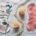 """Mosható arctisztító korong """"Rózsaszínek és virágok"""" (10 darab), Szépségápolás, Egészségmegőrzés, Fürdőszobai kellék, Szeretnél tenni valamit Földünk védelméért? Használj környezetbarát, mosható arctisztító korongot!  ..., Meska"""