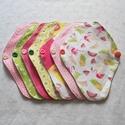 """""""Flamingó"""" TANGA mosható tisztasági betét csomag (7 darab) , Szépségápolás, Egészségmegőrzés, Fürdőszobai kellék, Varrás, Szeretnél tenni valamit Földünk védelméért? Használj környezetbarát, mosható tisztasági betétet!  A..., Meska"""