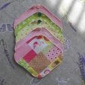 """""""Flamingó"""" mosható tisztasági betét csomag (5 darab) , Szépségápolás, Egészségmegőrzés, Fürdőszobai kellék, Varrás, Szeretnél tenni valamit Földünk védelméért? Használj környezetbarát, mosható tisztasági betétet!  A..., Meska"""