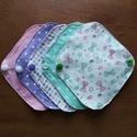 """""""Vattacukor"""" mosható tisztasági betét csomag (5 darab) , Szépségápolás, Egészségmegőrzés, Fürdőszobai kellék, Szeretnél tenni valamit Földünk védelméért? Használj környezetbarát, mosható tisztasági betétet!  A ..., Meska"""