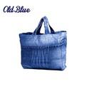 Bevásárló táska nagy , Ruha, divat, cipő, Táska, Kosár, Szatyor, Újrahasznosított alapanyagból készült termékek, Készítünk bevásárló táskát, használt farmeranyagokból.  Szeretnénk minél nagyobb mennyiségben kivál..., Meska