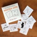 Sigfried Cicás memória játék, Ellentét páros készségfejlesztő játék gyerekeknek, 24 pár, Játék, Logikai játék, Készségfejlesztő játék, 48 db, azaz 24 pár kártyát tartalmazó párkereső (memória) játék. A kihívás nem szokványos: ezúttal n..., Meska