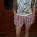 Buggyos török rövidnadrág, Ruha, divat, cipő, Női ruha, Sort, Varrás, Rövid fazonban készítettem el a képen látható buggyos nadrágot. Elkészíthető különböző hosszúságokb..., Meska