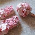 Menyasszonyi csokor,örök csokor,különleges és romantikus esküvőre.Szett., Dekoráció, Esküvő, Esküvői csokor, Csokor, Virágkötés, Örökké tartó csokrok  Gyönyörű vintage menyasszonyi csokor,pink polifoam rózsából és pink nagyfejű ..., Meska