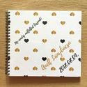 Névre szóló Lánybúcsú ajándék emlékkönyv - Prémium egyedi album - emlék a menyasszonynak - füzet / napló - 21x19cm, Naptár, képeslap, album, Esküvő, Fotóalbum, Jegyzetfüzet, napló, Fotó, grafika, rajz, illusztráció, Könyvkötés, KÉRHETED saját szöveggel is! Lánybúcsúra, esküvőre, eljegyzésre, lánykérésre frappáns ajándék lehet..., Meska